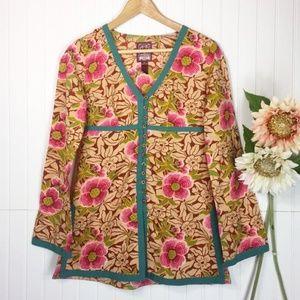 Lucky Brand | Floral Kimono Style Tunic